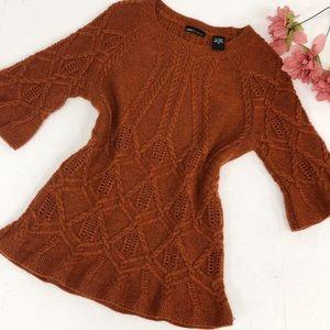 VICTORIAs SECRET | Fall Knit Rust Sweater
